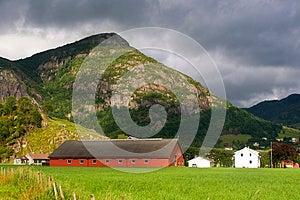 Norway Village Stock Photography - Image: 26222832