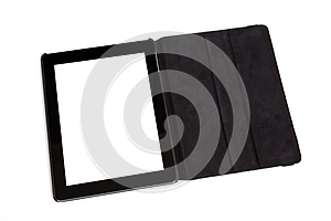 Tablet In Black Carrying Case Royalty Free Stock Images - Image: 26230709