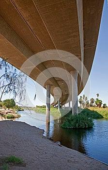 Under Interstate 8 Royalty Free Stock Image - Image: 26231846