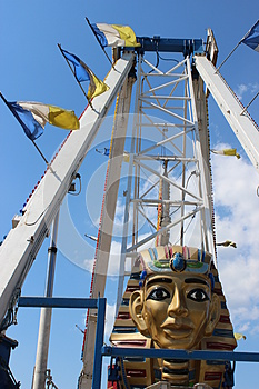 Amusement Ride Royalty Free Stock Photography - Image: 26281207