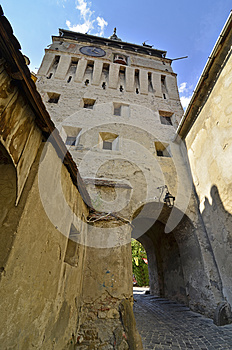 Tower Gate  Sighisoara Stock Images - Image: 26283194