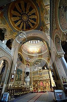 Sighisoara Inside Church Stock Images - Image: 26290394