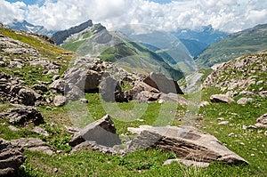 Alps, France (by Col Du Bonhomme) Stock Images - Image: 26291664