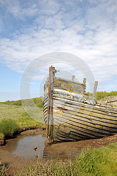 Remains Of Boat Stock Photos - Image: 26295093