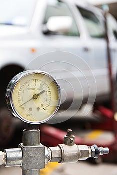 Πίεση αέρα Στοκ Εικόνες - εικόνα: 26298964