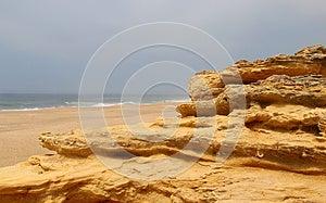 Nazare Rocks, Portugal Stock Photography - Image: 26302412
