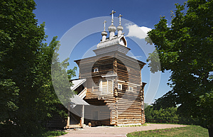 The Church Of St. George In Kolomenskoye Royalty Free Stock Photo - Image: 26303405