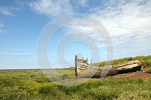 Remains Of Boat Stock Images - Image: 26305854