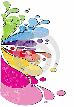 Colored Spots Royalty Free Stock Photography - Image: 26312027