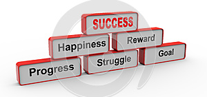 Success Pyramid Royalty Free Stock Images - Image: 26312579