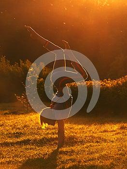 Morning Exercises Royalty Free Stock Photography - Image: 26314117