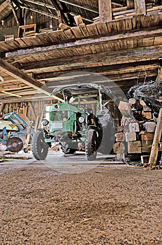 Old Tractor Stock Images - Image: 26314284
