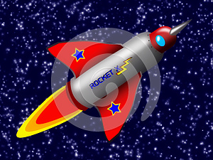 Space Rocket Royalty Free Stock Photography - Image: 26319047