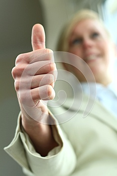 Thums Up Royalty Free Stock Photos - Image: 26328578