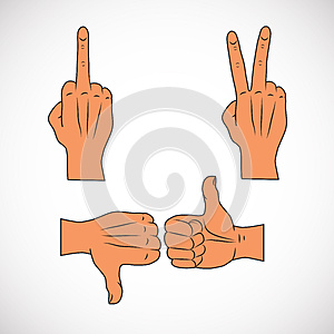 Gestures Stock Photography - Image: 26333402