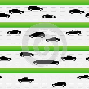 Highways Traffic Seamless Texture Royalty Free Stock Photos - Image: 26333768