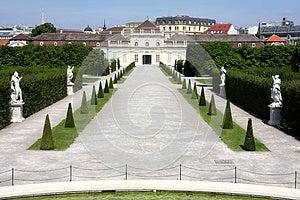 The Lower Belvedere, Vienna, Austria Stock Photo - Image: 26334240