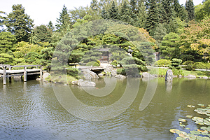 Picturesque Japanese Garden Royalty Free Stock Photography - Image: 26345267
