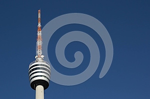 TV Tower Royalty Free Stock Photo - Image: 26359425