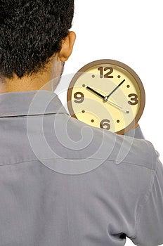Holding Clock Stock Photography - Image: 26370612