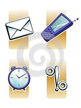 Marks, Signs Post Telephone Royalty Free Stock Photography - Image: 26380017