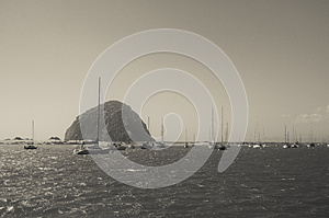Morro Rock Stock Images - Image: 26383854