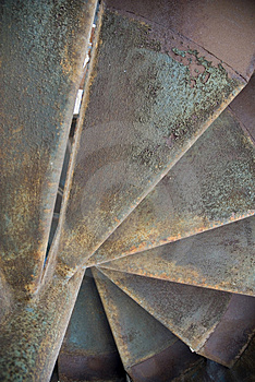 Rusty Stairs Royalty Free Stock Photos - Image: 2641658