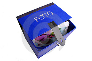 Foto-box Blue Royalty Free Stock Images - Image: 2644619