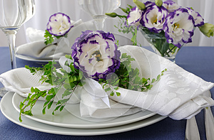 Cloth, Decorated With Flower Royalty Free Stock Photos - Image: 26400968