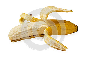 Peeled Banana Royalty Free Stock Photos - Image: 26406898