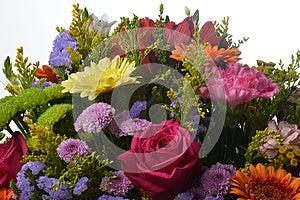 Ανθοδέσμη των λουλουδιών Στοκ Φωτογραφίες - εικόνα: 26407493