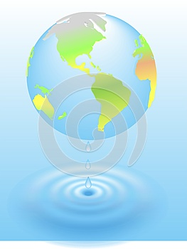 3d Global Warming Global Planet Earth Royalty Free Stock Images - Image: 26416509