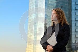 Successful Businesswomen Holding Laptop Royalty Free Stock Photos - Image: 26421058