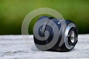 Objectiv για το φωτογράφο Στοκ Εικόνα - εικόνα: 26427041