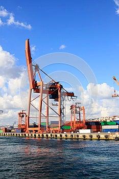 Container Crane Stock Photo - Image: 26436140