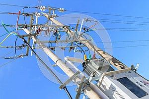 Transformer Substation Royalty Free Stock Photography - Image: 26439987