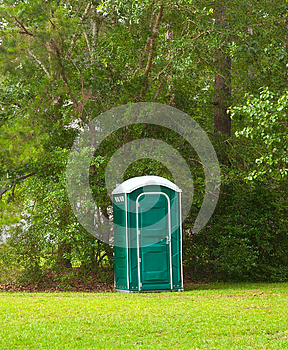 Portable Toilet Royalty Free Stock Photography - Image: 26446957
