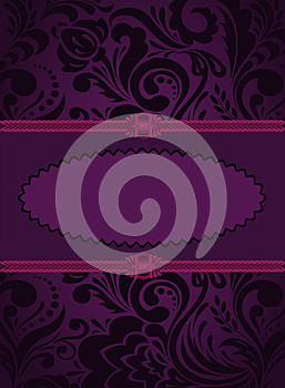 Vertical Purple Card Royalty Free Stock Photos - Image: 26449448