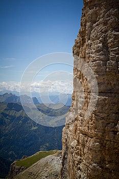 Piz Pordoi, Dolomiti Mountains In Italy Royalty Free Stock Images - Image: 26456709