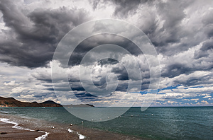 Sea And Clouds Stock Photo - Image: 26465550
