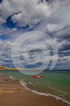 Sea And Clouds Stock Photos - Image: 26465573