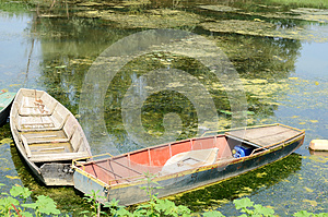 Old Boats On Water Stock Images - Image: 26470714