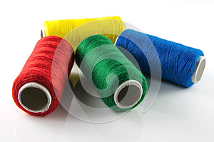 Spools Of Thread Royalty Free Stock Photography - Image: 26474947