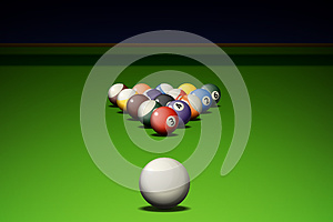 Pool Game Stock Images - Image: 26478274