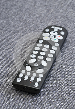 Television Remote Control Stock Photo - Image: 26482510