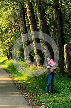 Mother And Baby In Park Stock Photos - Image: 26488523