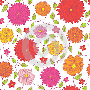 Summer Flower Background Stock Images - Image: 26491824