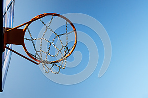 Basketball Hoop Royalty Free Stock Images - Image: 26499239