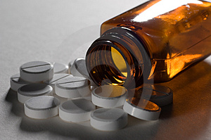 Medication Tablets Stock Photo - Image: 2651610