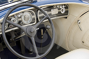 Detail Of A Classic Car Stock Photos - Image: 2657163